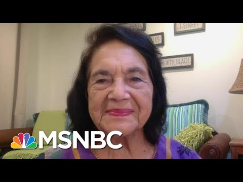 Dolores Huerta On Prioritizing Agricultural Workers For The COVID Vaccines | The Last Word | MSNBC