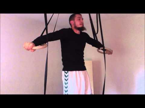 Suspended Muscle-up (self-assisted)