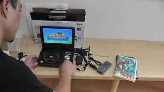 Portable DVD Player from Aliexpress