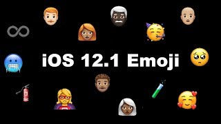 New Emoji in iOS 12.1 Beta 2!