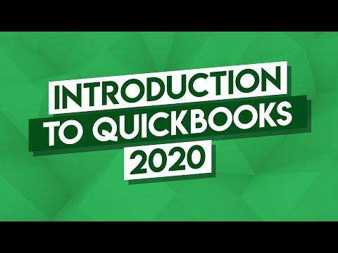 QuickBooks Tutorial: QuickBooks 2020 Course for Beginners ...