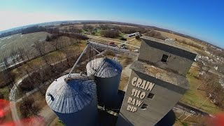 Grain Silo Rip Raw and Wild | Forck-In Quad FPV Freestyle Insta360 GO