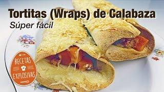 Tortitas o Warps de Calabaza - Super facil - Recetas Explosivas