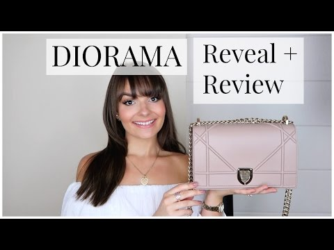 DIOR DIORAMA HANDBAG REVEAL & REVIEW || S/S17 ♥