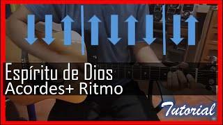 Espiritu de Dios llena mi vida tutorial con guitarra acustica