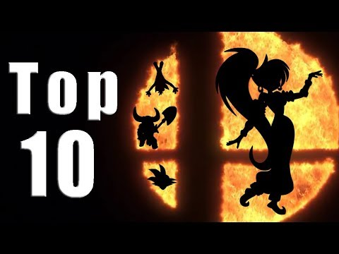 Top 10 Most Wanted Characters for Smash Bros. on Switch