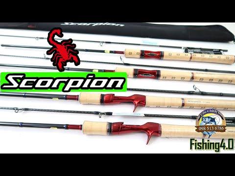 Cần câu lure máy đứng Shimano Scorpion - Made in indonesia