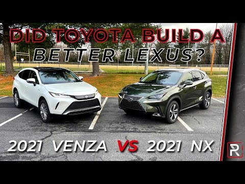 2021 Toyota Venza Vs. 2021 Lexus NX300h – Which is the Better Lexus SUV?