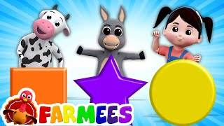 Shapes Song for Kids | Preschool Learning Videos & Rhymes for Kids