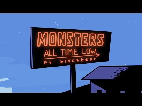 All Time Low: Monsters ft. blackbear (LYRIC VIDEO)