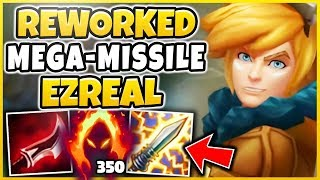 WTF! ONE REWORKED EZREAL Q = INSTANT KILL?!? THIS NEW EZREAL JUST ISN