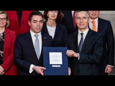 Οι αντιδράσεις στα Σκόπια για την υπογραφή στις Βρυξέλλες…