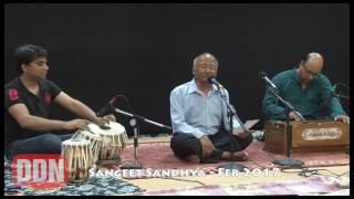 Harihar Jha singing Husn Wale tera jawab nahi at Feb 2017