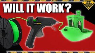 Turning a Glue Gun Into a 3D Printer