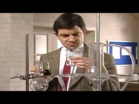 Mr. Bean en el laboratorio