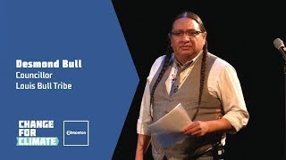 Louis Bull Tribe's transition to renewable energy - Change for Climate Talks