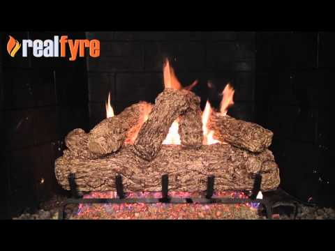 Peterson Real Fyre Rustic Oak Gas Logs