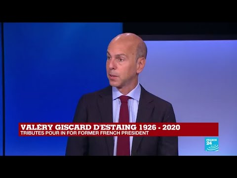Ex-President Vélery Giscard d'Estaing 'thought France's future was Europe'