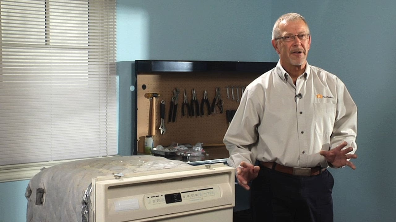 Replacing your Maytag Dishwasher Lower Wheel Assembly