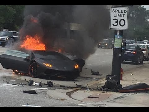 Insane Supercar Crashes & Fails 2017