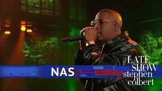 Nas Performs 'Adam And Eve'