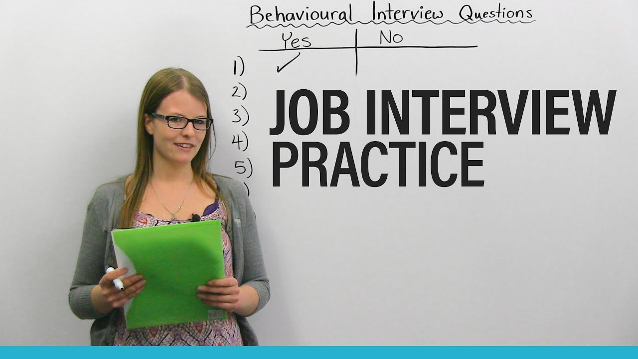 behavioral questions for a job interview Behavioral interviewing is a relatively new method of job screening in the 1970s, industrial psychologists found that traditional job interviewing was a pretty crappy way of predicting whether a candidate would succeed at a job and when you look at traditional job interview questions, it's.