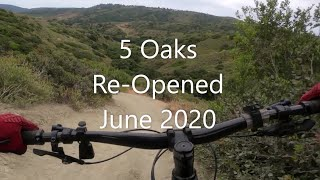Two new turns, but otherwise 5 Oaks is still really fun.
