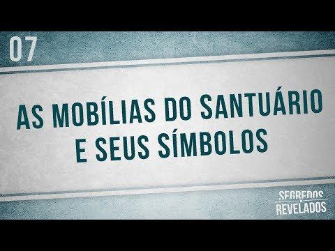 As mobílias do Santuário e seus símbolos | Segredos Revelados | Romar Machado