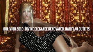 Oblivion 2018 Mod Showcase - Divine Elegance Renovated Nailflan Outfits