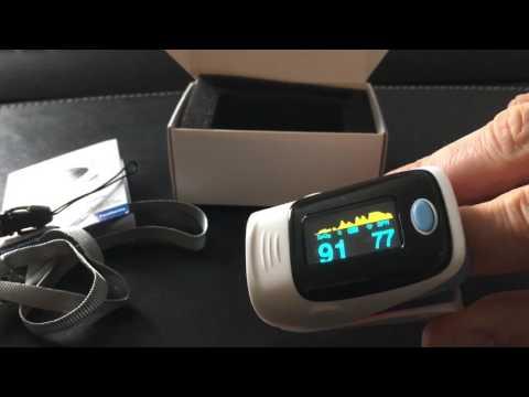 Fingertip Pulse Oximeter Sauerstoffsättigungs- und Pulsmesser