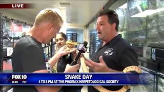 Snake Day at the Phoenix Herpetological Society