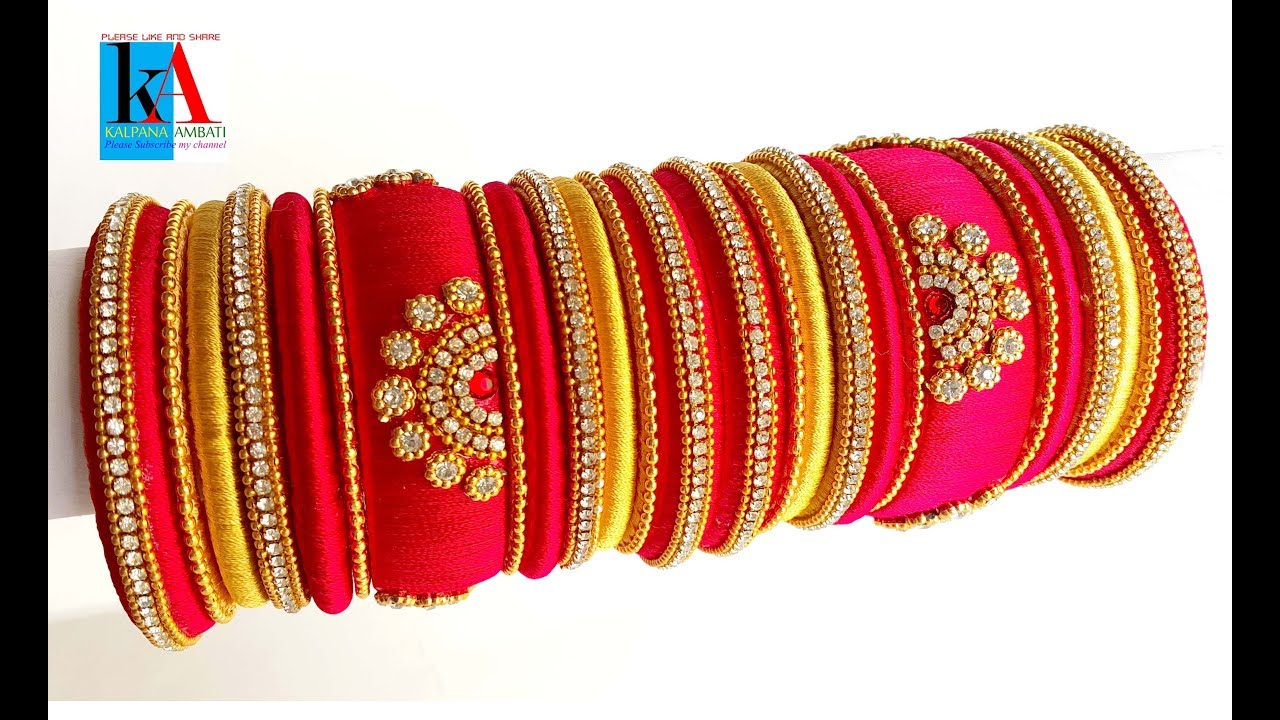 Making Jhumkas And Bangles In A New Style