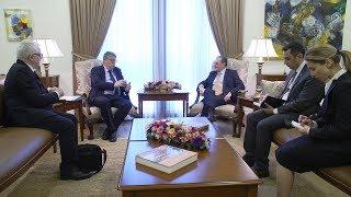 Министр иностранных дел Армении  принял генерального секретаря департамента по делам внешних связей и торговли Ирландии Рори Монтгомери