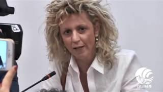 """Politica: Emiliano - Ministro Lezzi, lite furibonda su Tap. Lei: """"Maleducato"""", lui: """"Si deve dimettere"""" (VIDEO)"""