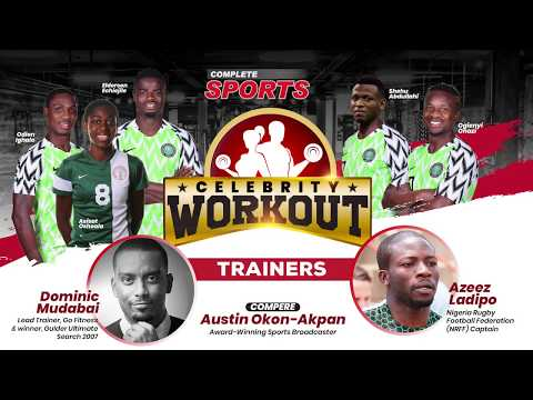WATCH: Complete Sports Celebrity Workout