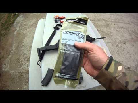 Beretta ARX100 mag test