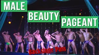Male Beauty Pageant - Backstage VIP Pass