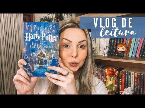 Vlog de leitura: Harry Potter e a Pedra Filosofal, J.K. ROWLING | Isa do Apego Literário