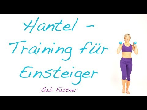 27 min. easy Hantel-Workout
