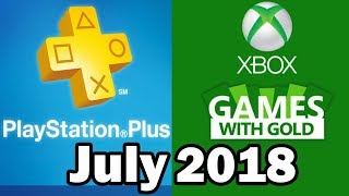PS4 and XBOX ONE Free Games July 2018