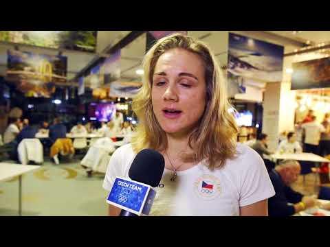 Bronzová olympionička Karolína Erbanová