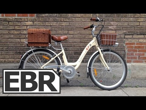 eProdigy Banff Video Review – Small, Cute Cruiser Style Electric Bike with Baskets
