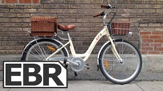 eProdigy Banff Video Review - Small, Cute Cruiser Style Electric Bike with Baskets
