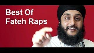 Fateh DOE Best Rap Compilation, Video Song Latest Raps Included