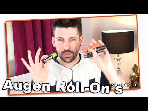 Augen Roll-On´s für Männer - Vergleich - Test