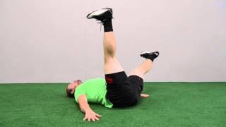 586. Single Leg Supine Rotation