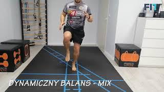 Dynamiczny balans – mix ćwiczeń – DYN010