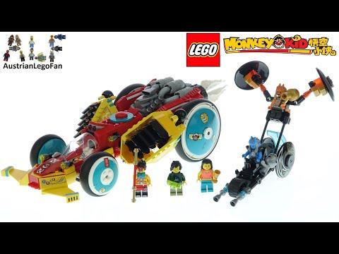 Vidéo LEGO Monkie Kid 80015 : La décapotable de Monkie Kid