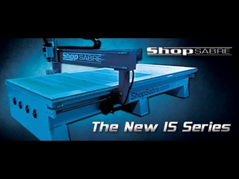 ShopSabre CNC – Walk around the IS Series with RouterBobvideo thumb