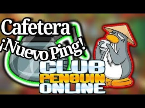 Nuevo pin de cafetera, ¿Dónde se encuentra? / Club Penguin Online